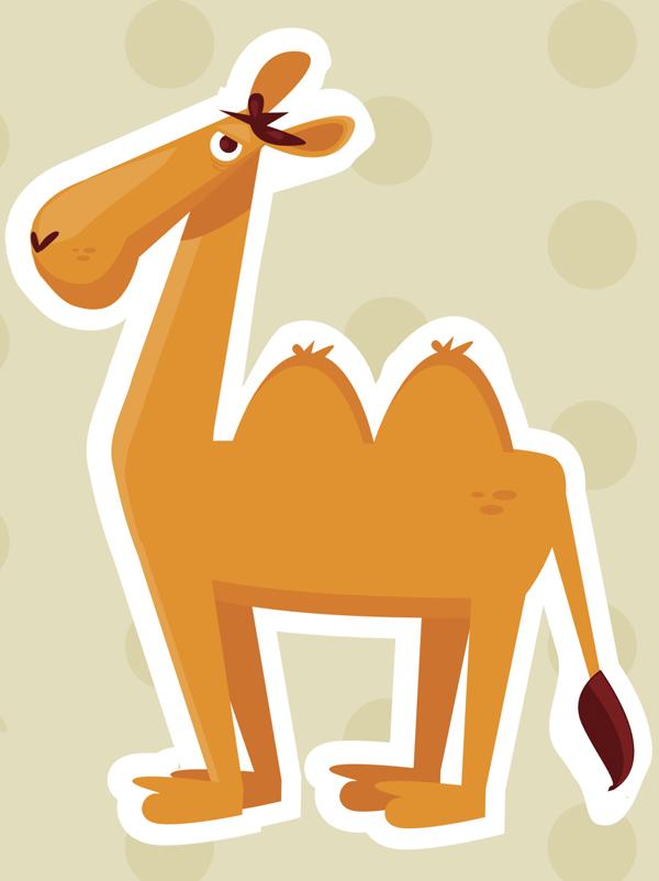 comptine Sur le chameau