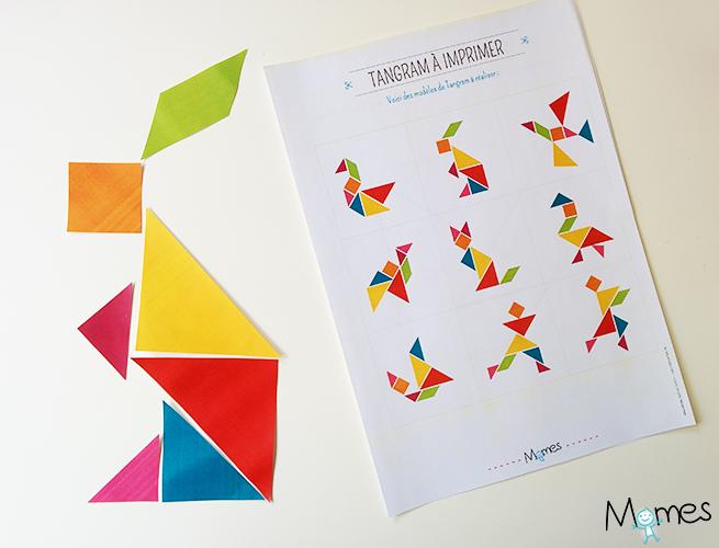 tangram animaux