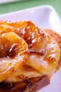 Tartines aux Pommes