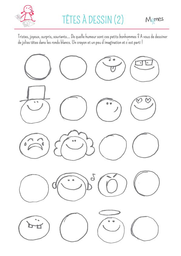 Têtes à dessin 2