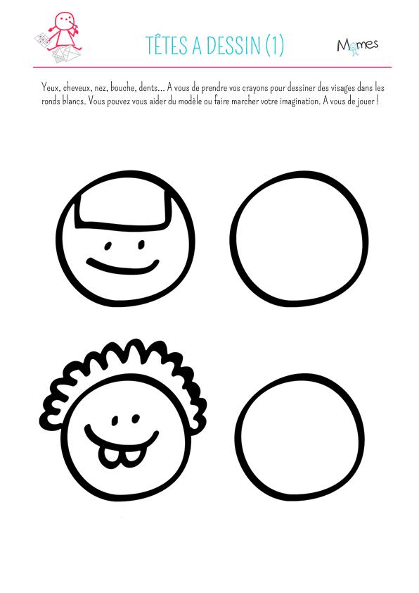 Têtes à dessin