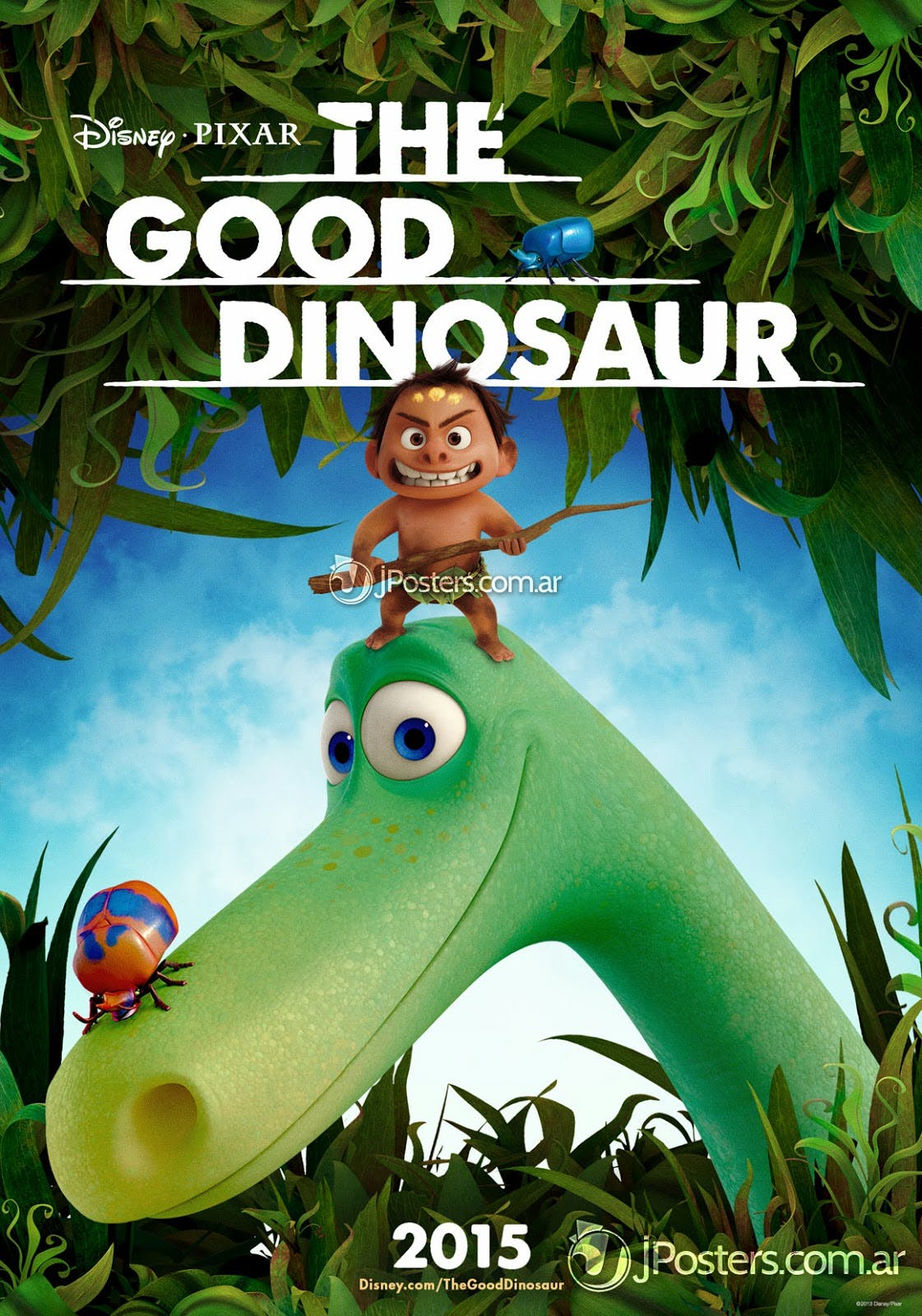 Affiche The good dinosaur