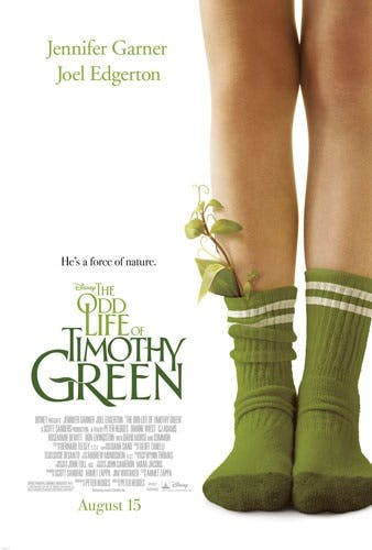 Affiche The Odd Life of Thimothy Green