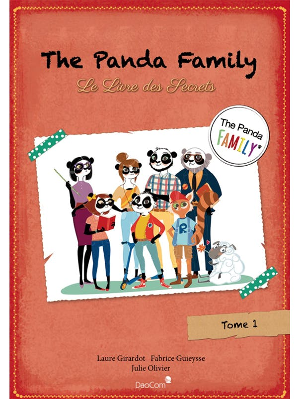 The Panda Family  : le Livre des Secrets
