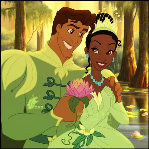 Coloriage Princesse Qui Danse Avec Prince.Tiana Et Le Prince Naveen De Maldonia La Princesse Et La Grenouille