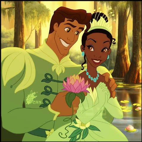 Tiana Et Le Prince Naveen De Maldonia La Princesse Et La