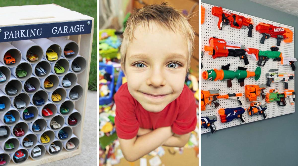 20 astuces pour ranger les jouets des enfants