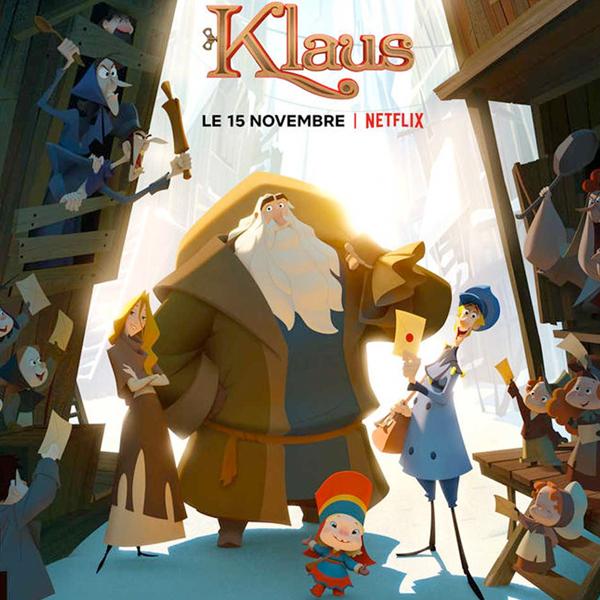 Tous fans de Klaus, le merveilleux film de Noël de Netflix