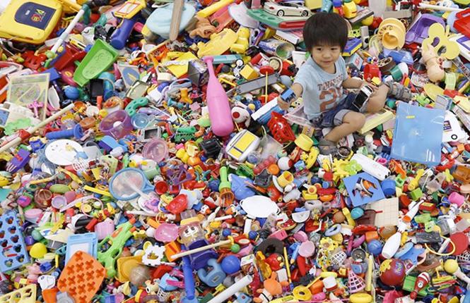 tri dans les jouets