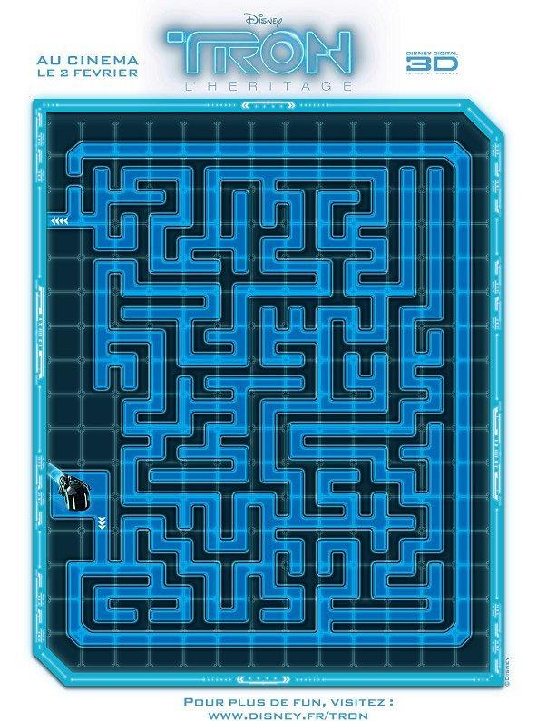 Tron : labyrinthe