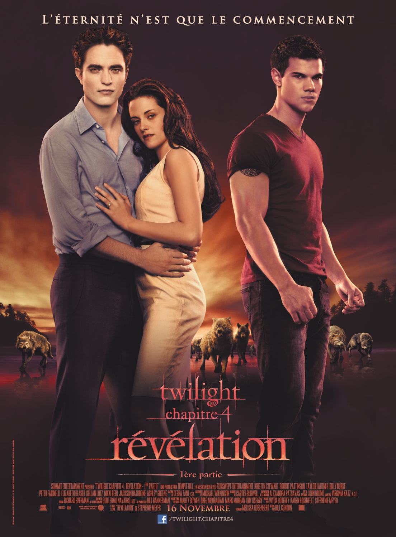 Affiche Twilight 4 Révélation