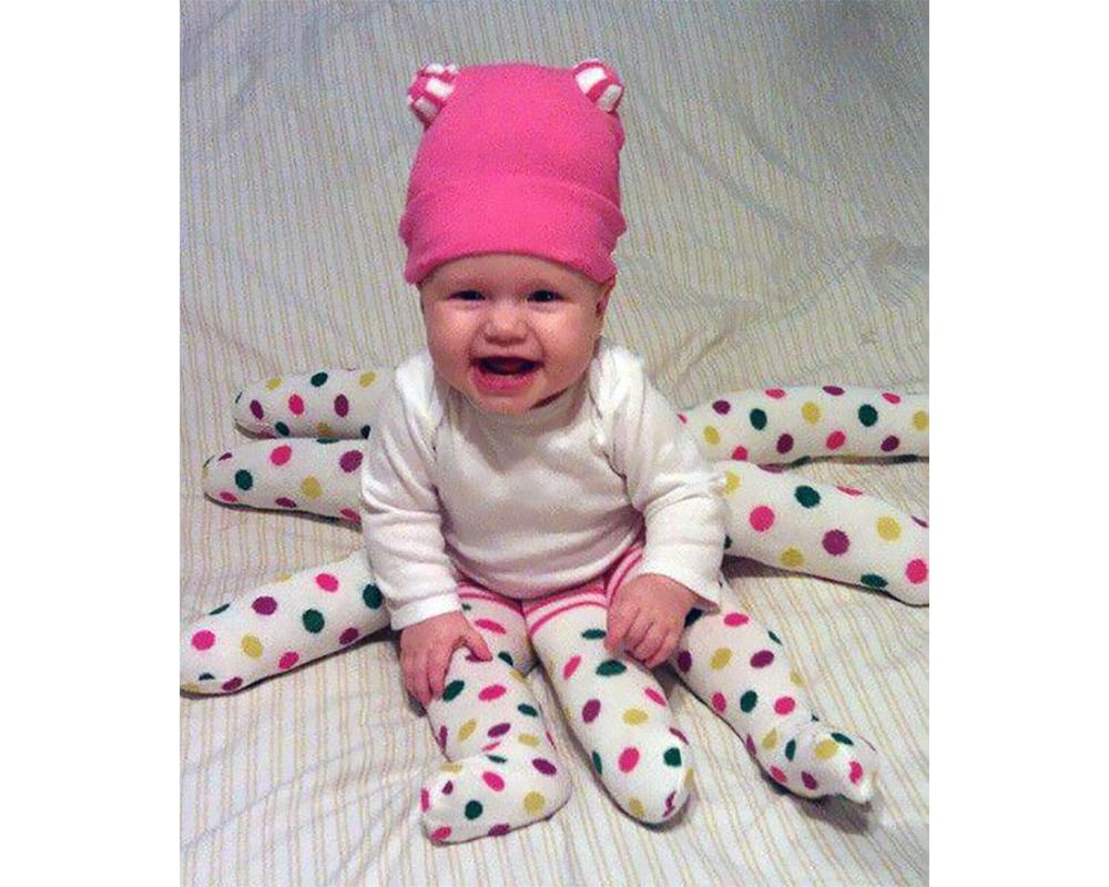 bébé pieuvre déguisements costume Halloween enfants