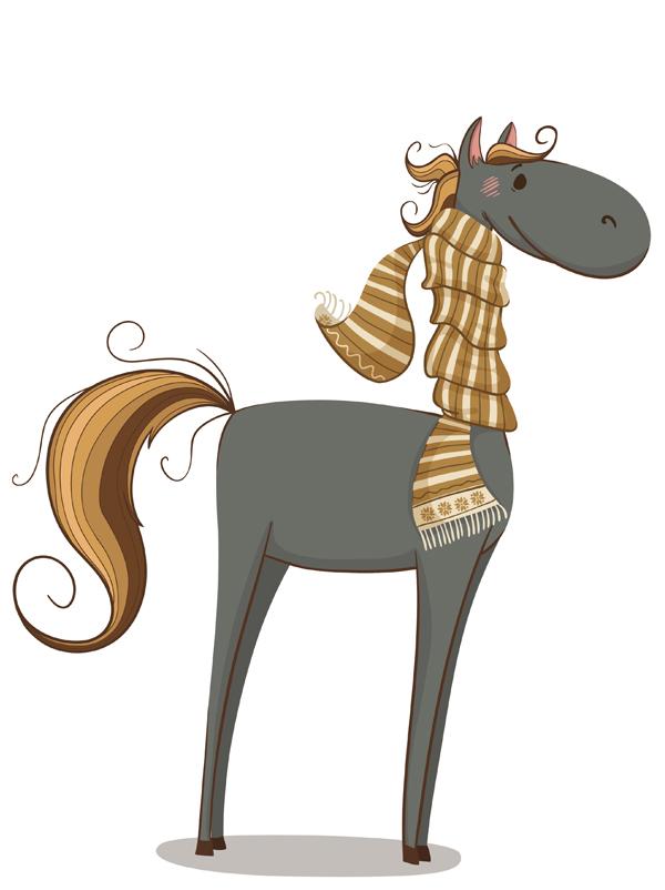 comptine Un cheval