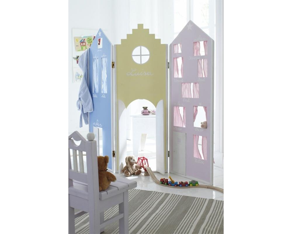 séparation chambre pour 2 enfants paravent