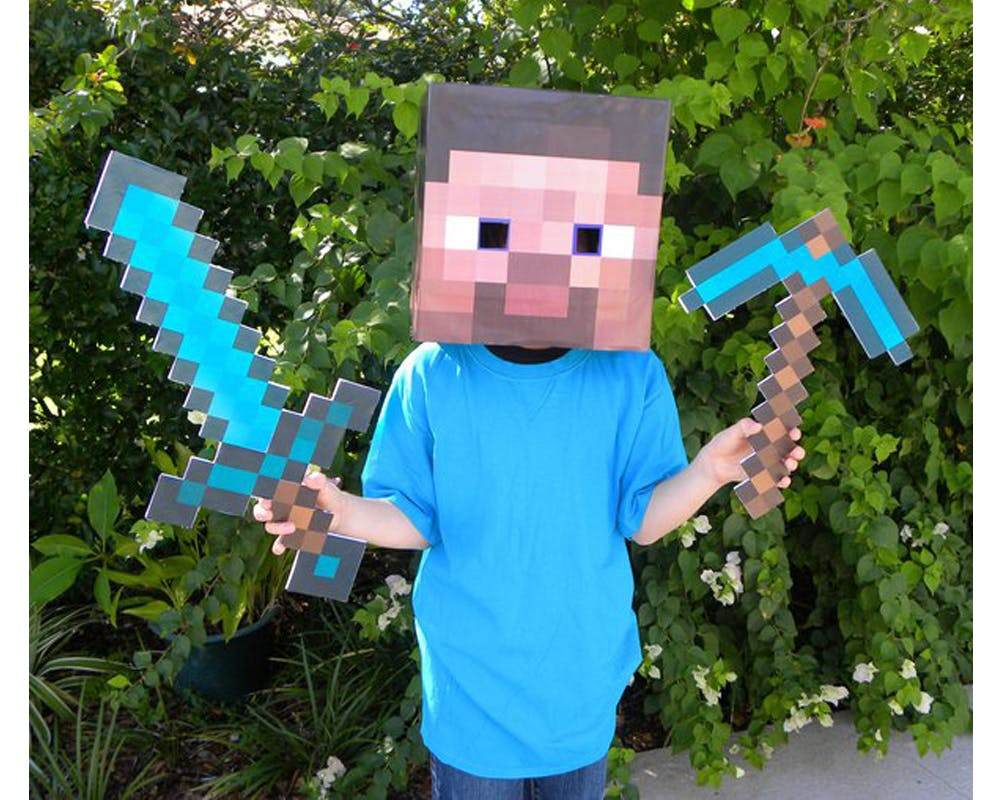 Minecraft déguisements costumes enfants halloween