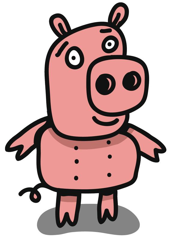 Comptine Un petit cochon