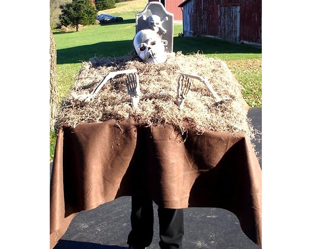 squelette tombe déguisements costume Halloween enfants