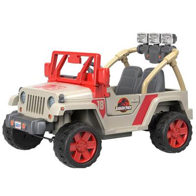 Une Jeep Jurassic park pour enfants !