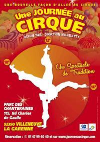Affiche Une Journée au Cirque