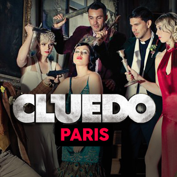 Une partie géante de Cluedo dans les rues de Paris !