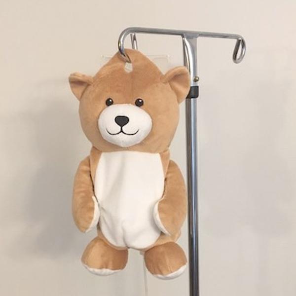 medi teddy ours perfusions hôpital enfants créé par une petite fille