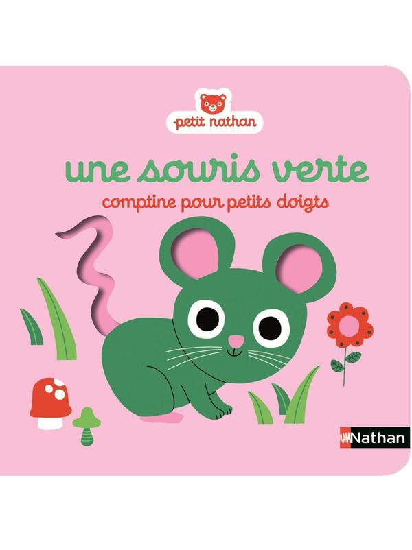 Une souris verte, comptine pour petits doigts