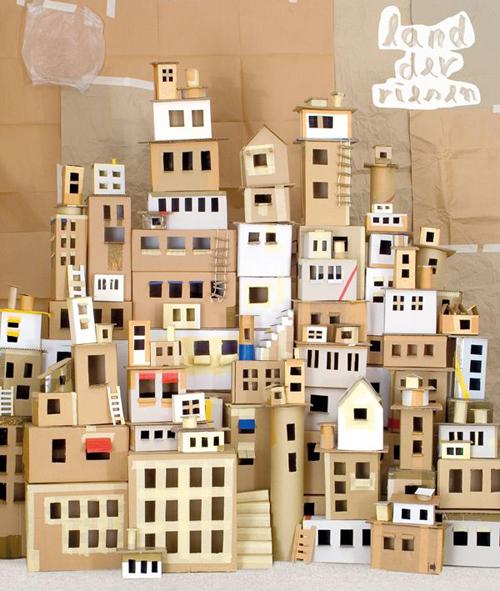 Une ville en carton