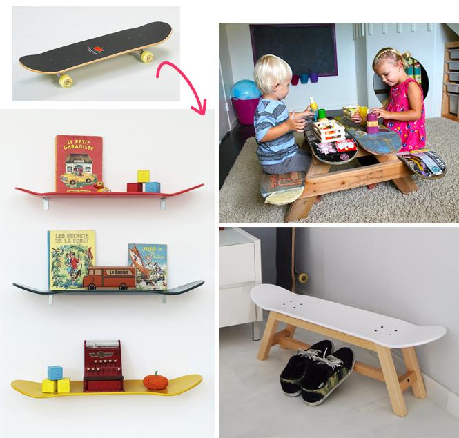 skateboard détournements
