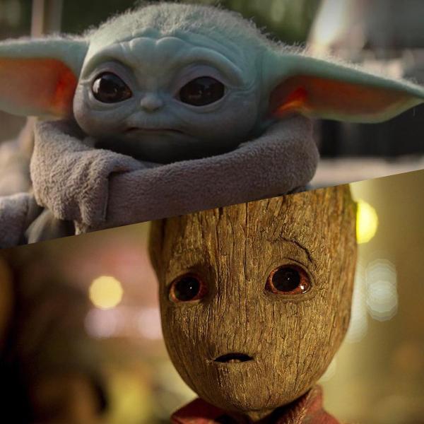 Vidéo : Baby Groot rencontre Baby Yoda !