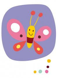 Comptine Vole joli papillon