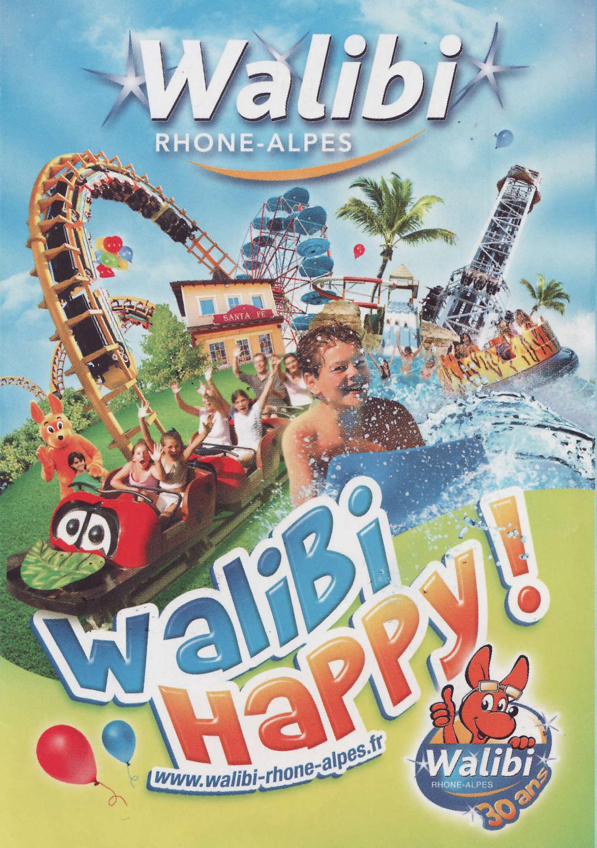 Affiche Walibi Rhône-Alpes