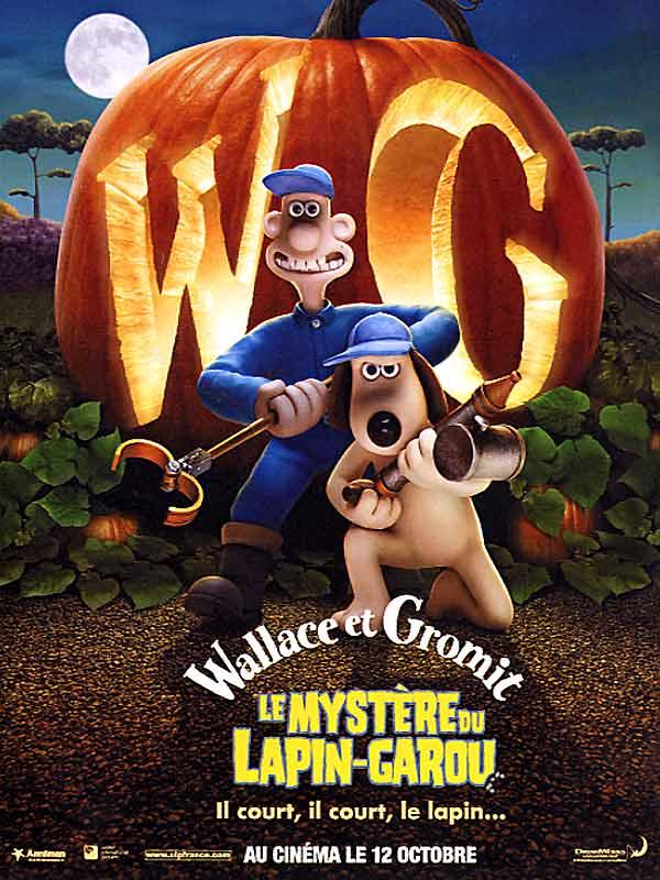 Affiche Wallace et Gromit le mystère du lapin-garou