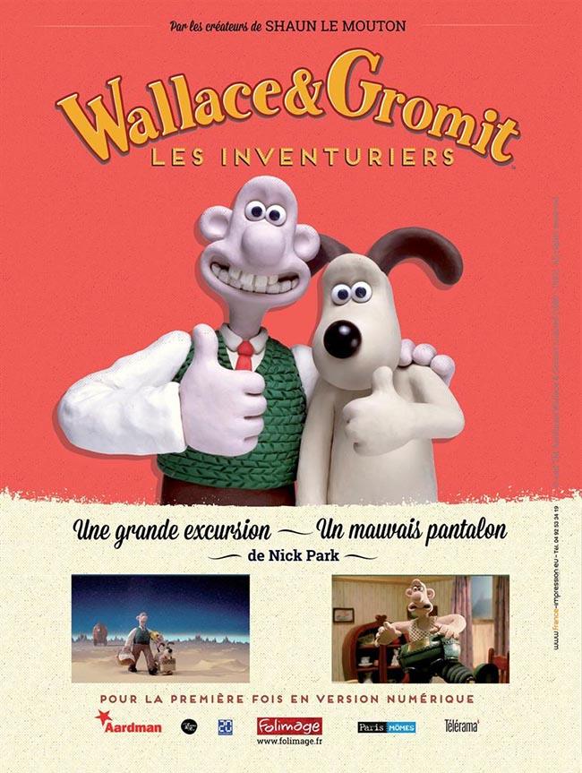 Affiche du film Wallace & Gromit : les Inventuriers