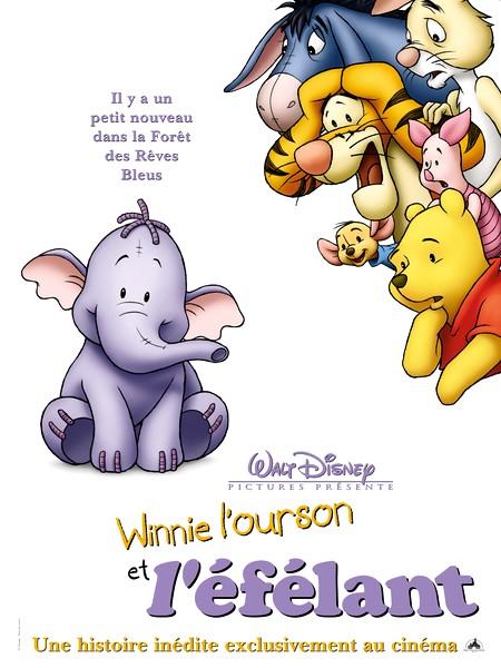 Affiche Winnie et l'éfélant