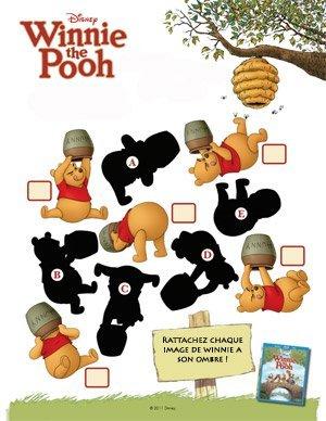 Winnie l 39 ourson jeu des ombres - Jeux de winnie l ourson gratuit ...