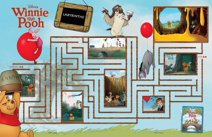 Winnie l'ourson : labyrinthe 2