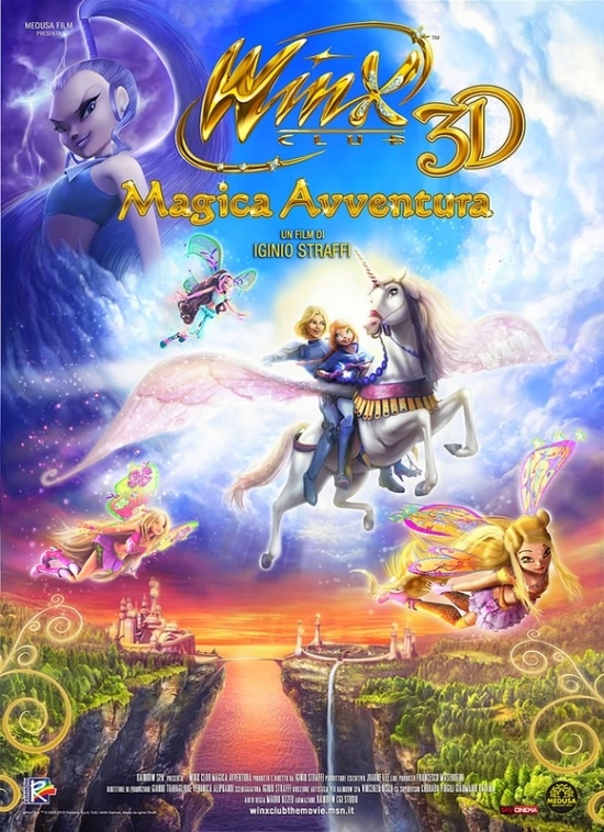 Affiche Winx Club - L'aventure magique en 3D