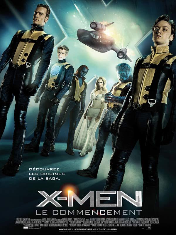 Affiche X-Men Le Commencement