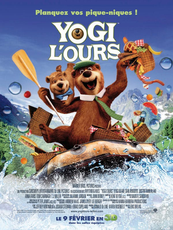 Affiche Yogi l ours