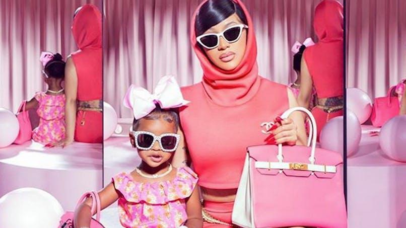 Cardi B : sa petite Kulture, 2 ans, déjà très suivie sur Instagram