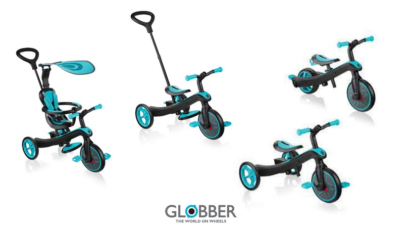 Le tricycle Explorer 4 en 1 - Globber