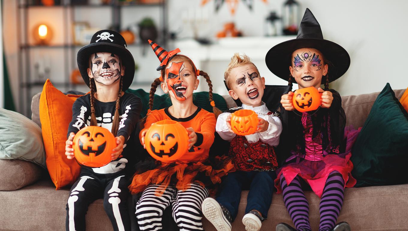 Halloween : des déguisements sûrs pour les enfants