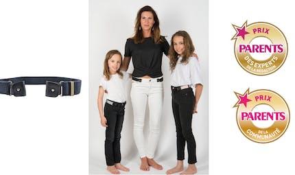 Libelté, la ceinture sans boucle pour les adultes et les enfants