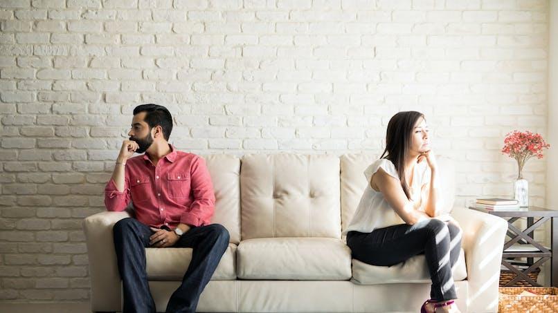 Après une séparation, un couple sur quatre vit encore sous le même toit