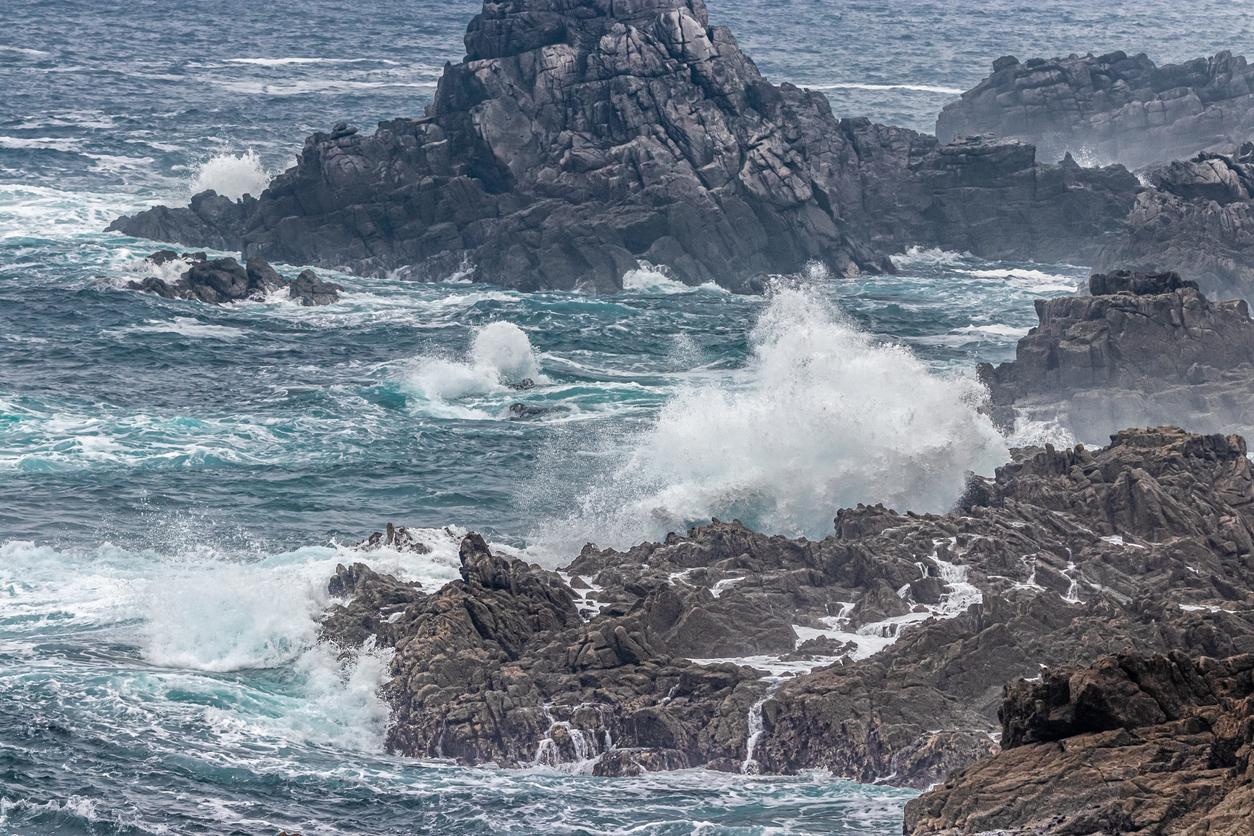 Un enfant emporté par les vagues à Ouessant