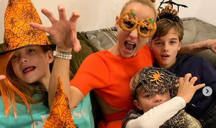 Mariah Carey, David Beckham, Elodie Gossuin... le diapo des people en famille
