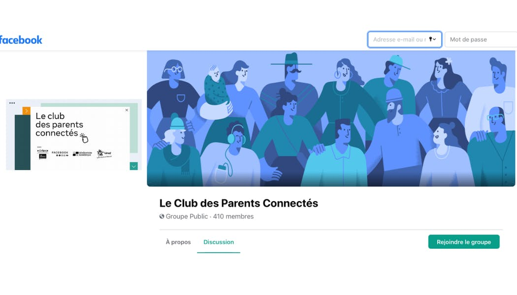 Facebook et Instagram lancent le Club des Parents Connectés