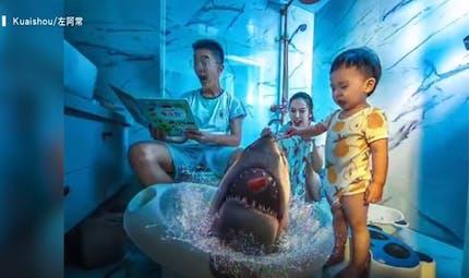 Les incroyables photos-montages d'un papa qui souhaite réaliser les rêves impossibles de sa famille