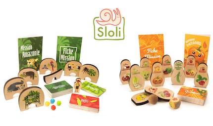 Sloli : des jeux en bois made in France et zéro déchet