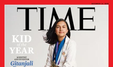 """Qui est Gitanjali Rao, élue enfant de l'année par le """"Time"""" Magazine ?"""